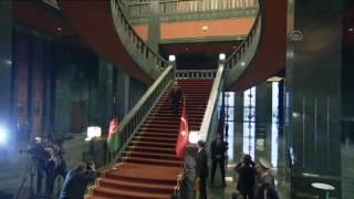 اشرف غنی در کشور ترکیه