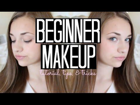 beginner makeup tutorial tips and tricks  youtube