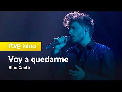 Así es 'Voy a quedarme', la canción que interpretará Blas Cantó en Eurovisión