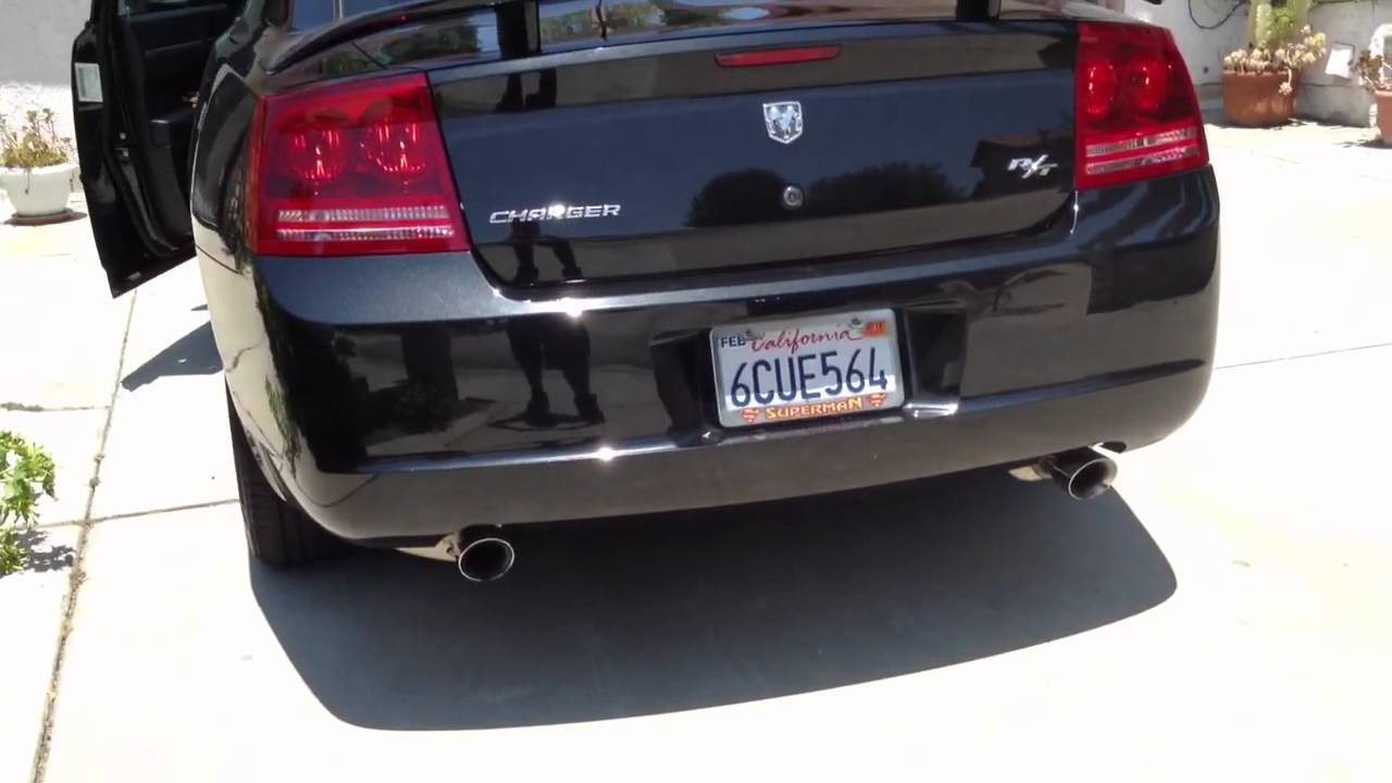 2008 Dodge Charger R T Corsa Xtreme Catback Exhaust