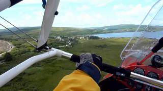 Microlight tour of Scotland.wmv