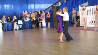 Бойченко Кристина и Бондаренко Данил. Быстрый фокстрот (квикстэп)