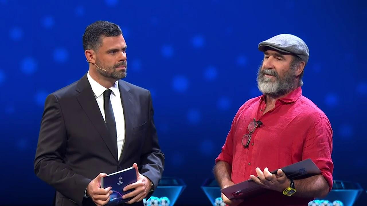 Eric cantona gives bizarre uefa award speech at champions. Eric Cantona Gives Interesting Acceptance Speech At Ucl Draw Youtube