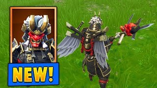 *NEW* Shogun skin w/the Jawblade Pickaxe! (Fortnite)
