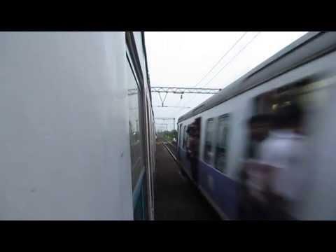 Blasting Through Konnagar And Bruttaly Overtake a Bandel Bound EMU : Onboard HWH-BWN Fast EMU