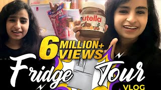 What's Inside My Fridge?😱 ft. Sivaangi | Fridge Tour Vlog | Tamil Vlogs | Sivaangi Krishnakumar