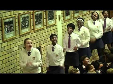 FLASH MOB Assembly Port Alfred High School South Africa