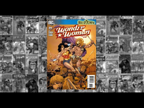 "Wonder Woman v3 #31: Rise of The Olympian Part Six, ""Uprising"","