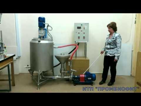 Установки приготовления эмульсий и суспензий УПЭС