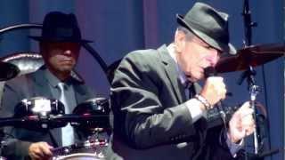 Leonard Cohen, Amen, Ghent 14 08 2012