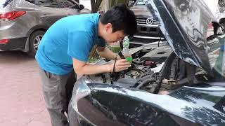 【vlog 02】汽车电瓶加蒸馏水