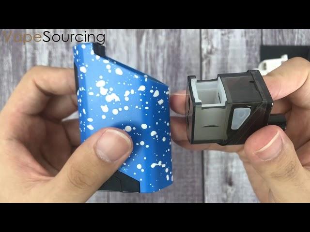 WISMEC HiFlask Pod System Kit  Adjustable airflow from vapesourcing