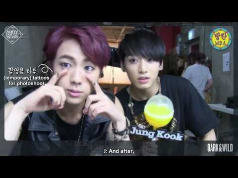 [ENG] [BTS in Naver Starcast] BANGTAN NEWS: DARK&WILD Concept Interview | ABS