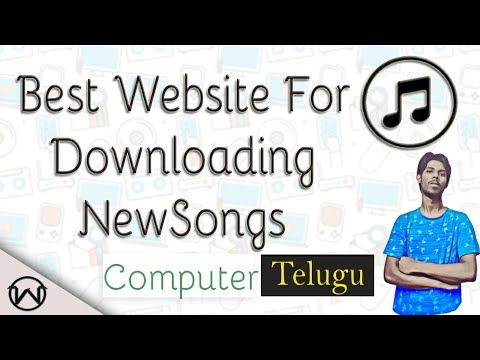 THE BEST WEBSITE FOR DOWNLOADING NEW TELUGU MP3 SONGS IN తెలుగు || Telugu Tutorials world