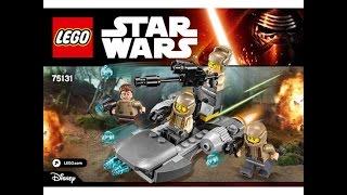 LEGO® Star Wars 75131 Боевой набор Сопротивления. Инструкция по сборке
