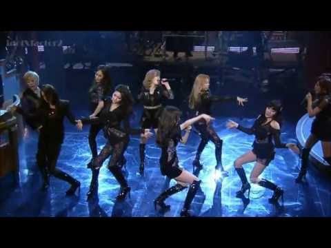 SNSD The Boys Live  in CBS The Late Show With David Letterman [HD]