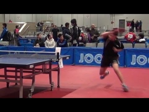 table tennis 12 years old albert zhang youtube