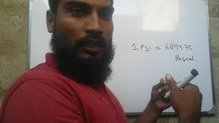 Psi convert pascal or kpa or mpa