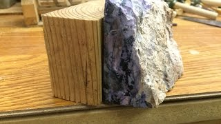Glueing & cutting slabs using Water Glass