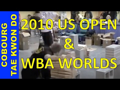 Master Jonathan Field's 2010 US OPEN & ISKA WORLD CHAMPIONSHIPS Breaking