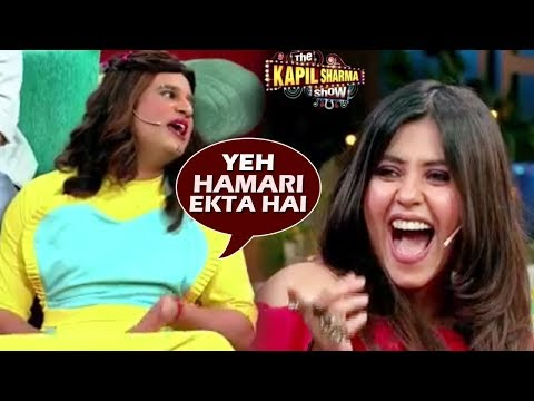 The Kapil Sharma Show 2: Krushna Abhishek Makes FUN Of Ekta Kapoor, Ekta Laughs Out Loud Mp3