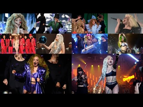 Lady Gaga - Applause [Live Comparisons: 10 PERFORMANCES!]