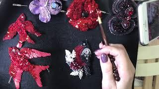 как вышивать люневильским крючком