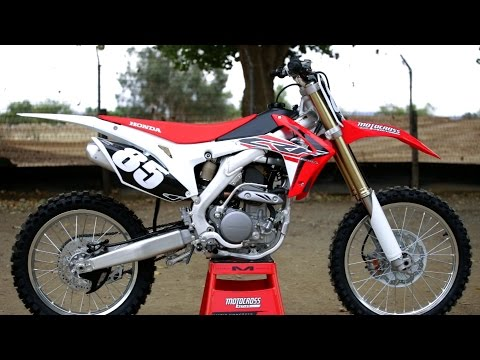 First Ride 2017 Honda CRF250 - Motocross Action Magazine