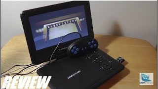 REVIEW: DBPower Portable DVD Player w. Game Function!