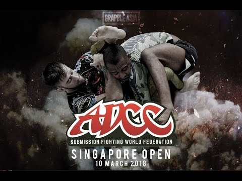 Nic Matthews - ADCC Singapore 2018 - First Match