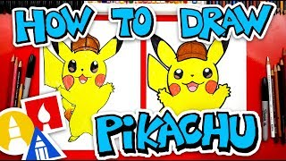 How To Draw Pokemon Detective Pikachu