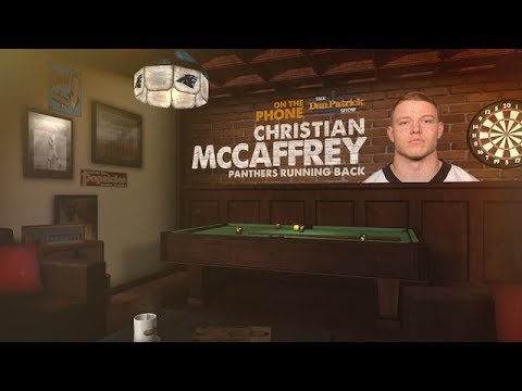 Carolina Panthers RB Christian McCaffrey on The Dan Patrick Show | Full Interview | 7/14/17