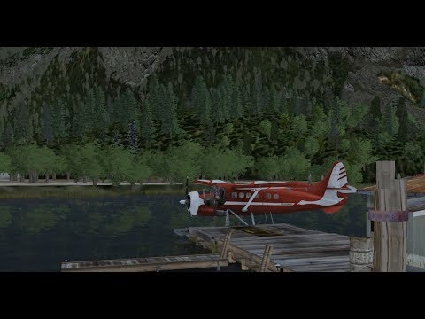 Milviz DHC-3 Otter in P3D v4.1 Part 1: First impressions and water ops
