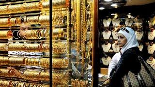 انخفاض حركة البيع والشراء في أسواق الذهب بدمشق