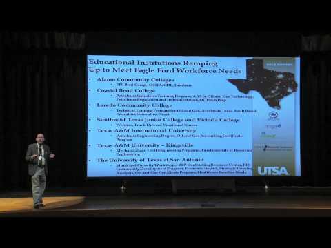 Dr. Tom Tunstall, UTSA Speaks on Future of Eagle Ford Shale