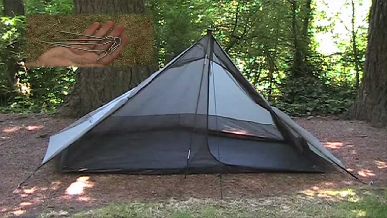 Only The Lightest Ch 79 Ultralight Backpacking Six Moon Designs Lunar Solo Tent Review - YouTube & Only The Lightest Ch 79: Ultralight Backpacking Six Moon Designs ...