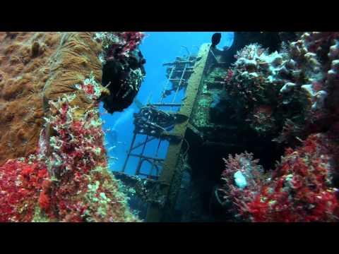 Cable Wreck near Jeddah, Saudi Arabia in the Red Sea