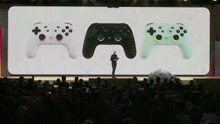 YouTube動画:Google unveils video game streaming platform