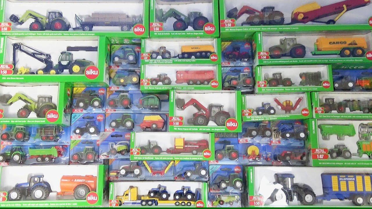 Download siku(ジク)の農業用車両が大集合!トラクター、飼料収穫機、コンバイン、テレハンドラーなど