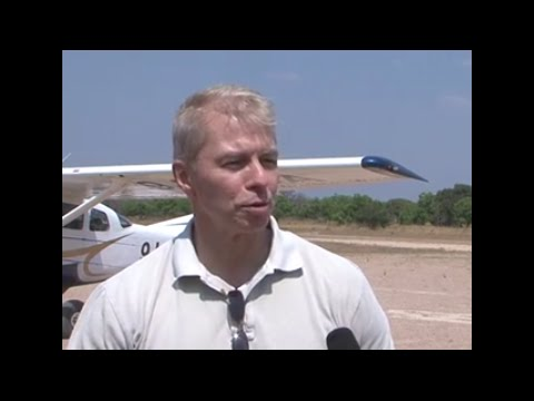 Ambassador Schultz takes part in ZAWA aerial survey  (Full feature)