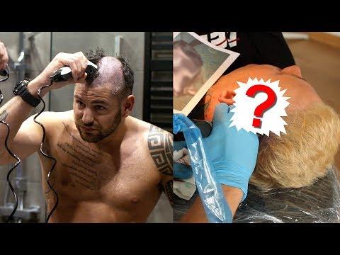Wyzwanie 13 Tatuaż Na Głowie I Pokonaj Bonusa Bgc Youtube