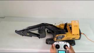 EAGLE 1/14 Volvo Excavator Operation Instruction With New Radio
