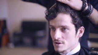 Мужская стрижка на кудрявые волосы/Men's haircut for curly hair