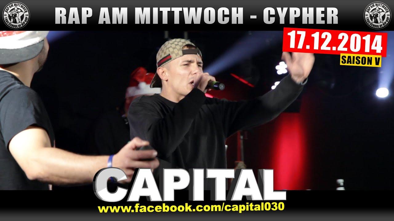 RAP AM MITTWOCH: 17.12.14 Die Cypher feat. CAPITAL BRA uvm ...