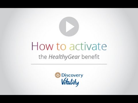 Discovery Vitality: How to activate the Vitality HealthyGear benefit