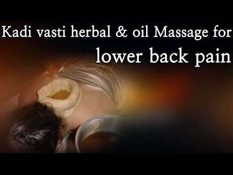 Kadi vasti herbal & oil Massage for lower back pain - Red Pix 24x7