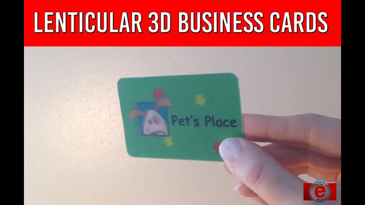 Unusual 3D Business Cards | TwenT3 - YouTube