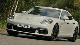 NEW CAR UPDATE Porsche Panamera 4 E Hybrid UK 2017