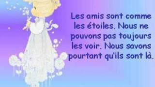 L'AMITIE  (LES ENFOIRES)