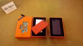 Кожаный чехол-накладка для iPhone 5/5S Luxury Story London